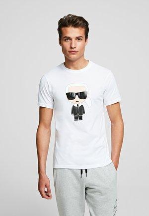 IKONIK  - Print T-shirt - white