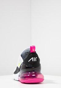 Nike Sportswear - AIR MAX 270 - Trainers - white/volt/black/laser fuchsia - 3