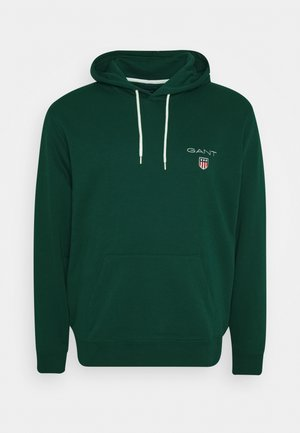 MEDIUM SHIELD HOODIE - Jersey con capucha - green