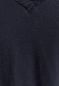 edc by Esprit - VNECK TEE - Basic T-shirt - navy - 2