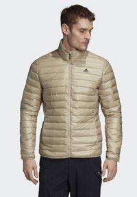 adidas Performance - VARILITE OUTDOOR DOWN - Down jacket - beige - 0