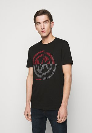 TARGET TEE - Print T-shirt - black