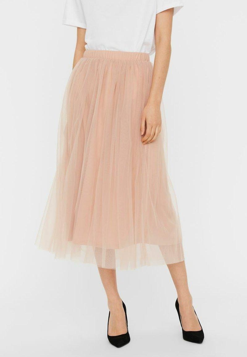 Vero Moda - A-line skirt - mahogany rose