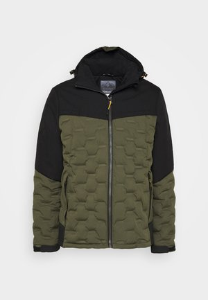 SKANE DOWNLOOK - Winter jacket - dunkeloliv