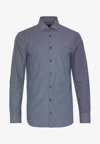 DOT PRINT CLASSIC SLIM - Kostymskjorta - blue