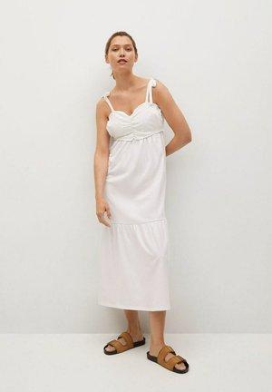 INES - Day dress - gebroken wit