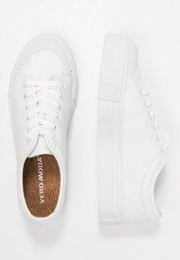 Vero Moda - VMSIMONE - Sneakers laag - snow white - 3