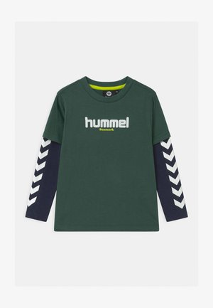 HIKARO UNISEX - Long sleeved top - mallard green