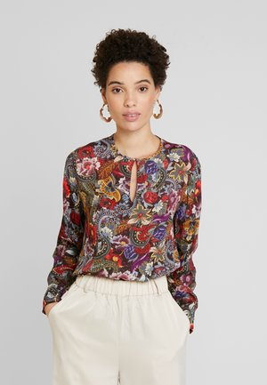 BLOUSE PRINTED - Blouse - cherry red
