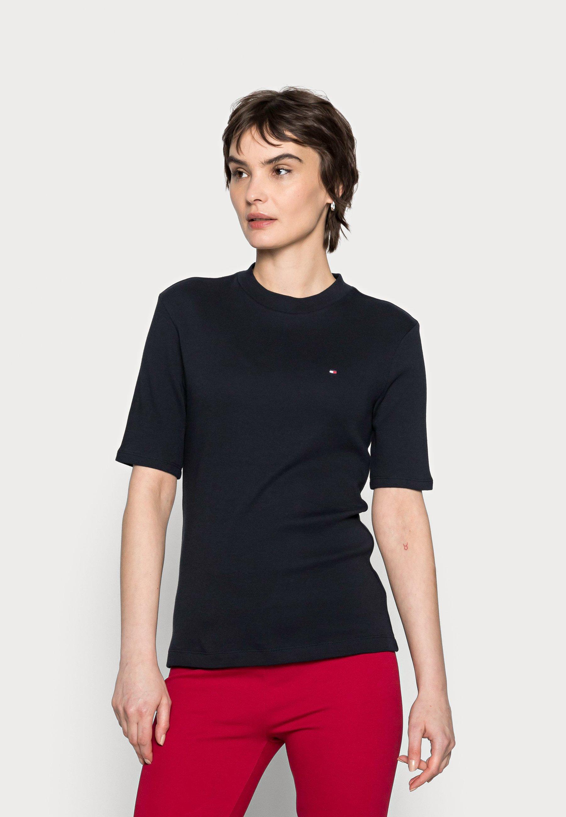 Damen SLIM TOP - T-Shirt basic