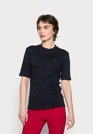 SLIM TOP - Basic T-shirt - blue