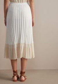 Falconeri - A-line skirt - bianco - 1