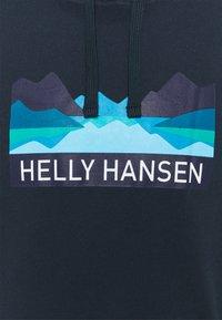 Helly Hansen - NORD GRAPHIC HOODIE - Sweatshirt - navy - 2