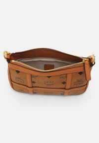 MCM - DELMY SHOULDER BAG IN VISETOS - Handbag - cognac - 2