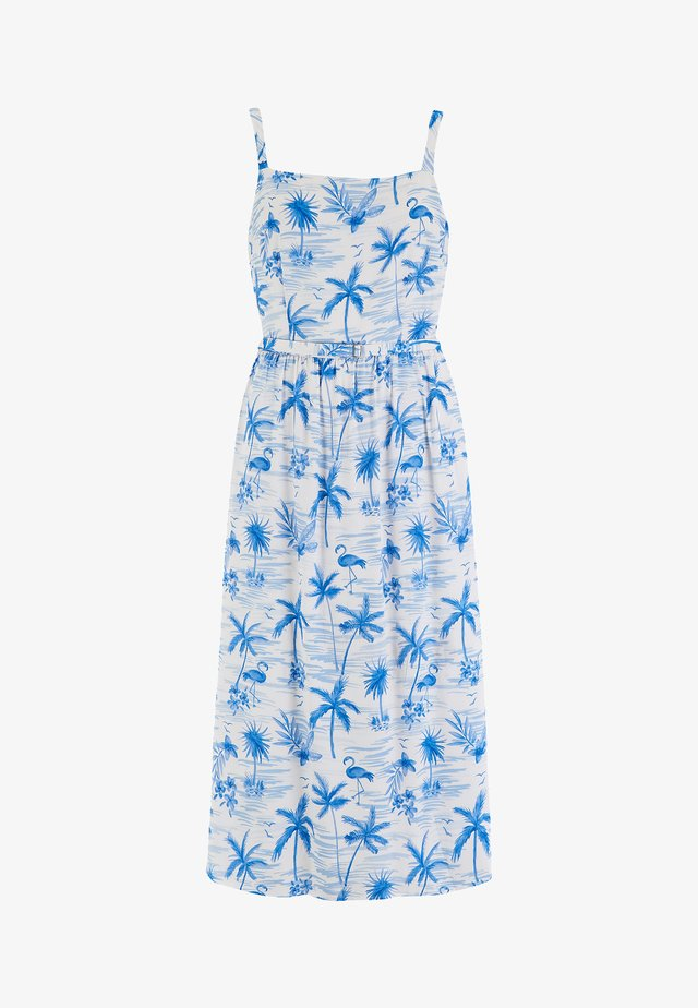 TALLULAH HAWAII FLAMINGO - Sukienka letnia - white