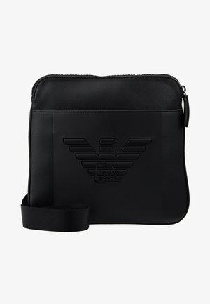 PIATTINA SMALL FLAT CROSSBODY BAG - Skuldertasker - black