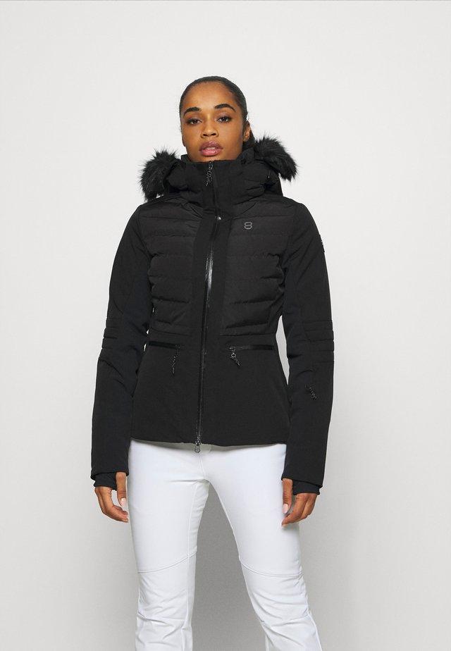 CRISTAL JACKET - Lyžařská bunda - black