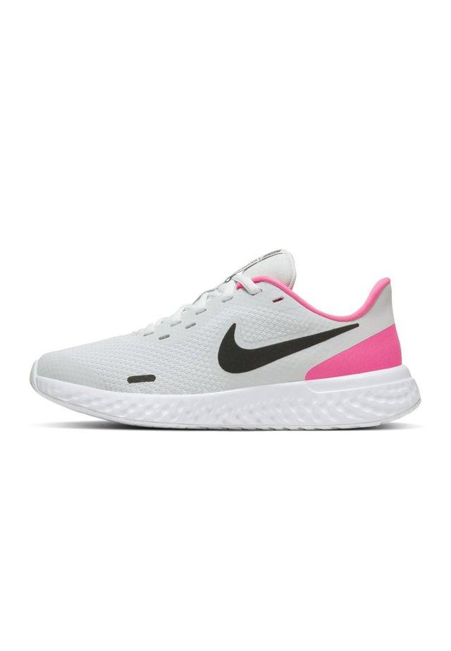 REVOLUTION UNISEX - Neutral running shoes - photon dust/hyper pink/white/black