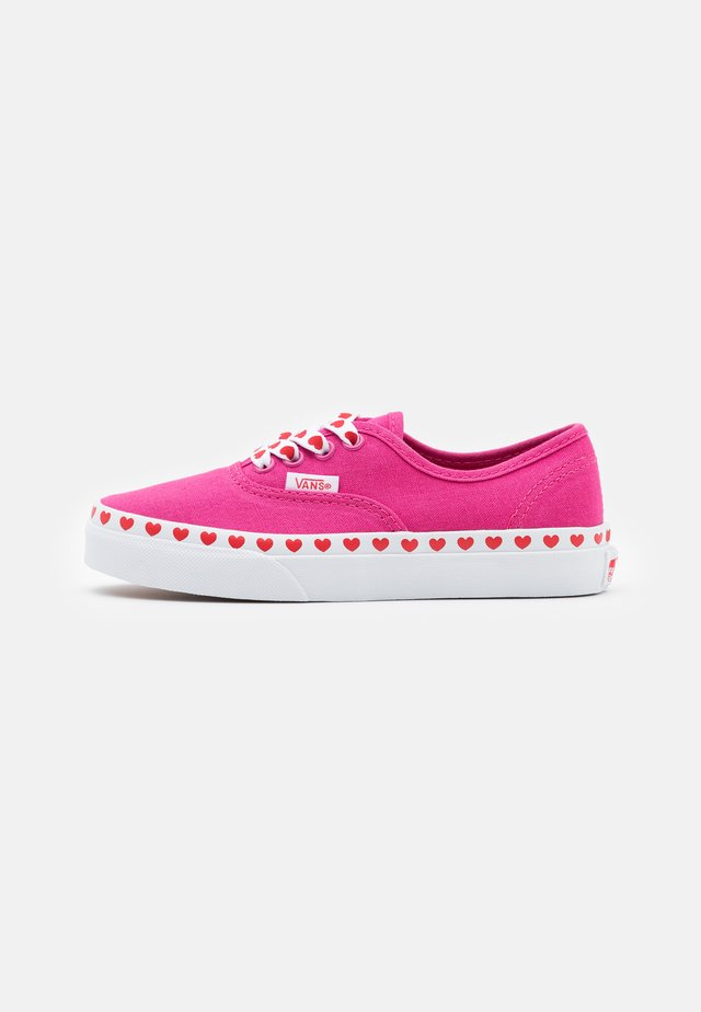 AUTHENTIC - Baskets basses - fuchsia purple/high risk red