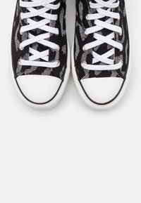 Converse - CHUCK TAYLOR ALL STAR LIFT - High-top trainers - black/grey/white - 5