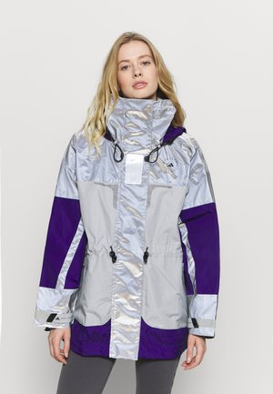 Chaqueta Hard shell - reflective silver/clear onix/collegiate purple