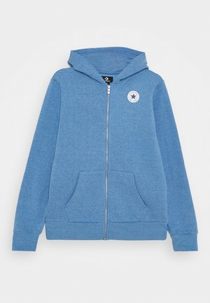 CHUCK PATCH FULL ZIP HOODIE  - Zip-up hoodie - coast heather