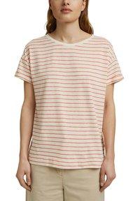Esprit - Print T-shirt - orange red - 5