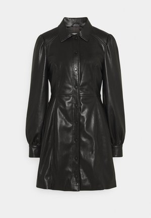 CORISANDE - Shirt dress - black