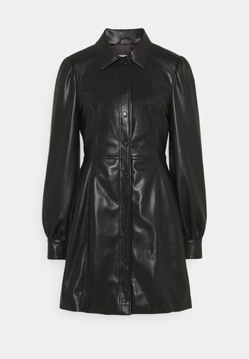 CORISANDE - Robe chemise - black