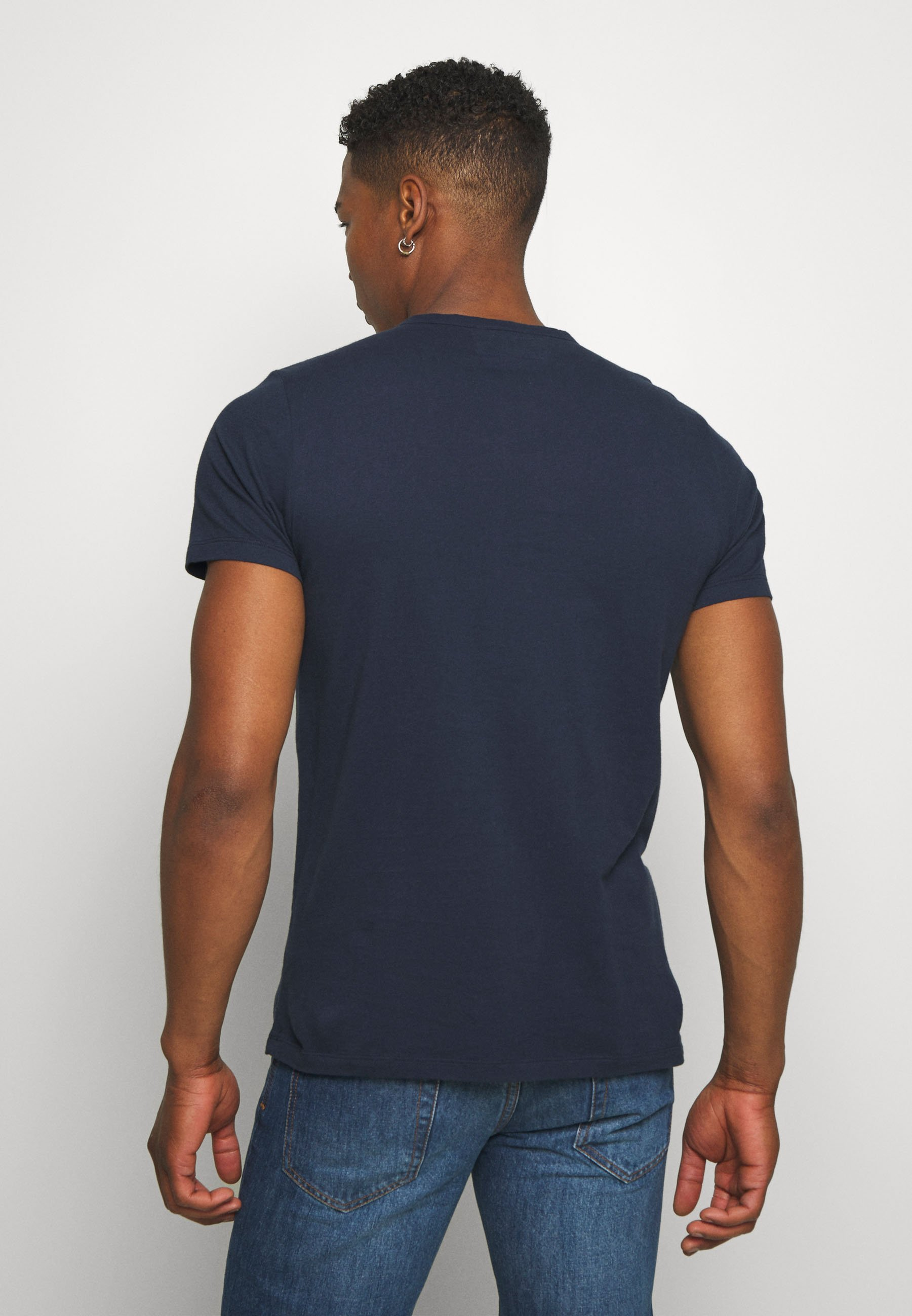 Abercrombie & Fitch ICON - Basic T-shirt - navy pCYIe