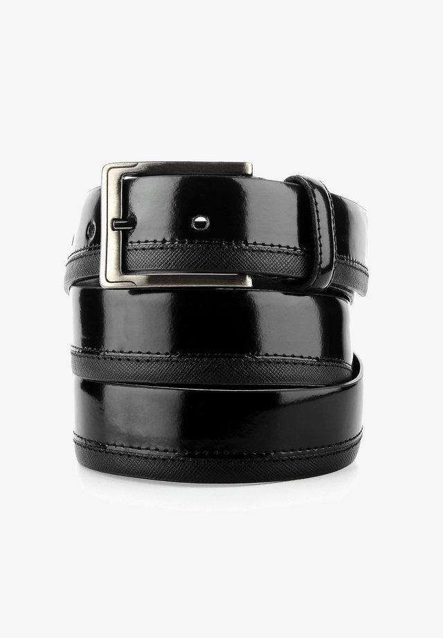 MALGHE - Formální pásek - black