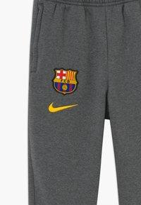 Nike Performance - FC BARCELONA - Club wear - charcoal heathr/amarillo - 3