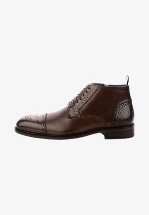 OLDENICO - Smart lace-ups - brown
