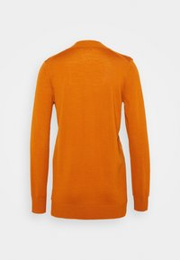 Tory Burch - BOYFRIEND SIMONE - Cardigan - orange rust - 1