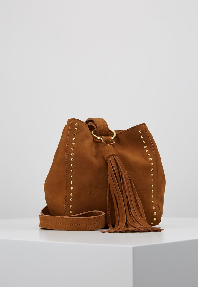 BELIEVE BAG - Sac bandoulière - camel