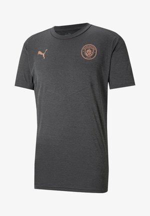 Sports shirt - dark gray heather  copper