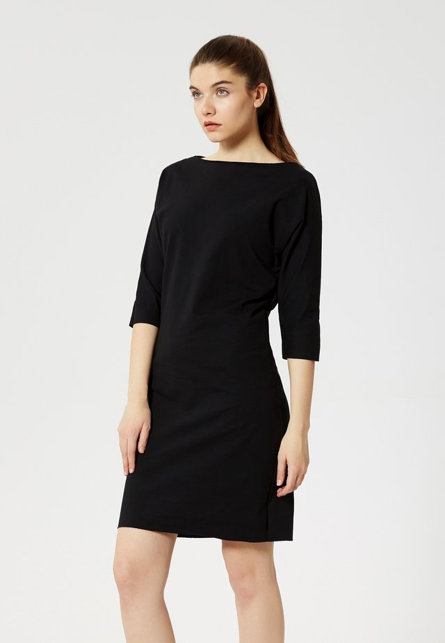 Sukienka z dżerseju - noir
