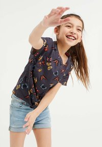 WE Fashion - Print T-shirt - black - 1