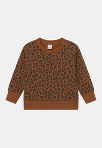 Lindex - LEO UNISEX - Sweatshirts - brown - 0