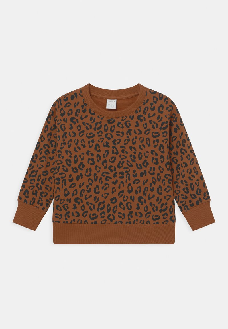 Lindex - LEO UNISEX - Sweatshirts - brown