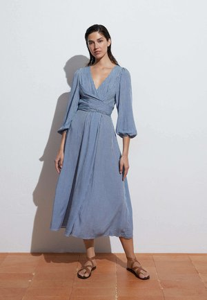 GINGHAM - Day dress - blue