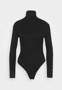 Missguided Petite - ROLL NECK BODY - Jumper - black - 4