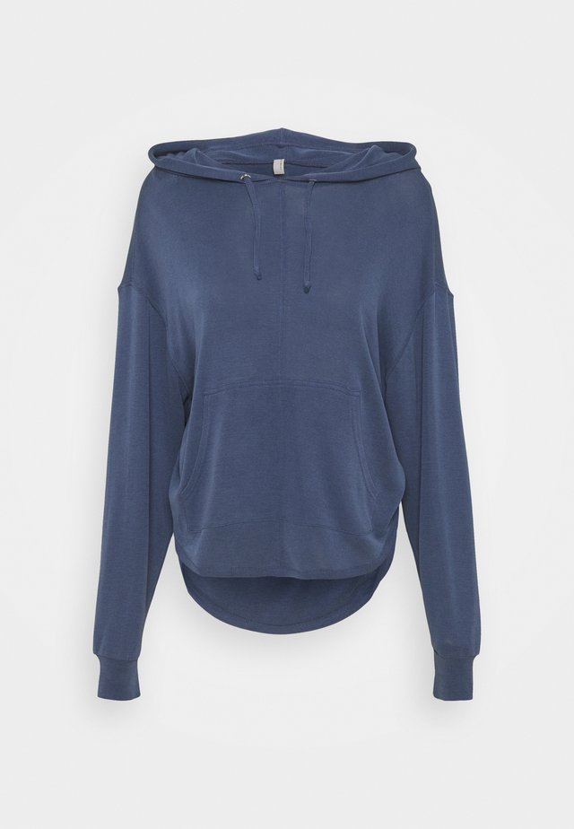 BACK INTO IT HOODIE - Huppari - eight count navy