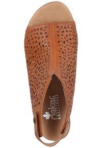 Rieker - Ankle cuff sandals - cayenne - 3