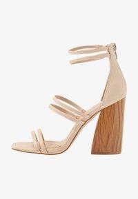 Call it Spring - GUVEN - High heeled sandals - bone - 1