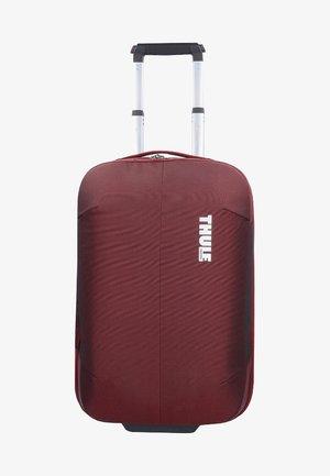 SUBTERRA - Wheeled suitcase - dark red