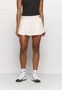 Nike Performance - DRY SKIRT - Sports skirt - guava ice/black - 0
