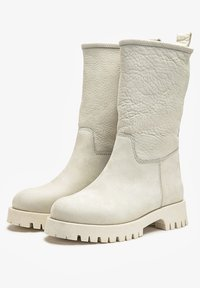 Inuovo - Platform ankle boots - nb bone - 2