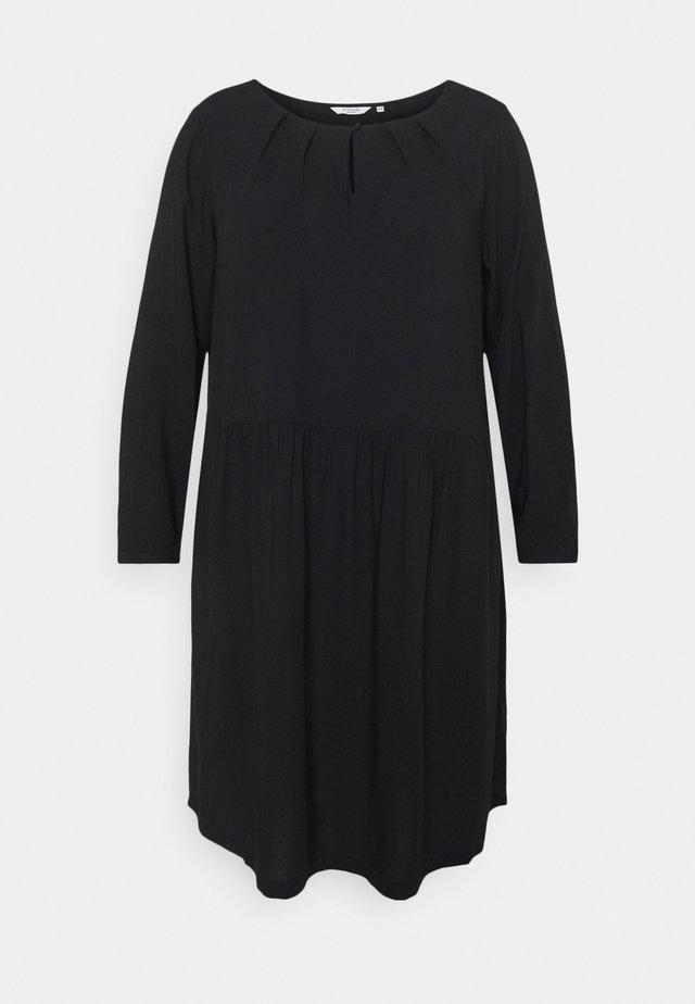 DRESS BLOUSE STYLE - Hverdagskjoler - deep black