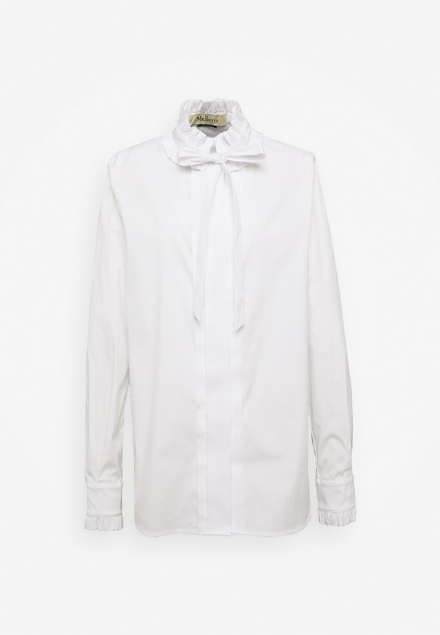 ABBEY - Camisa - white